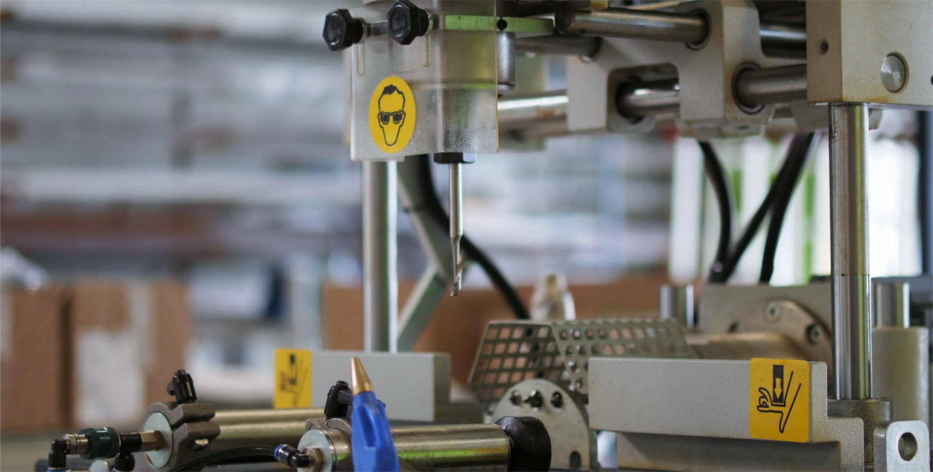 machine fabrication assemblage PVC 2