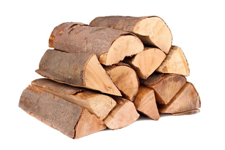 bûches de bois brut poêle à bois