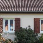 réalisation client 4 fenêtre + porte + porte de garage conform énergie 3