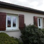 réalisation client 4 fenêtre + porte + porte de garage conform énergie 7