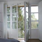 porte fenêtre bois moderne avec volets conform énergie allier auvergne atulam français