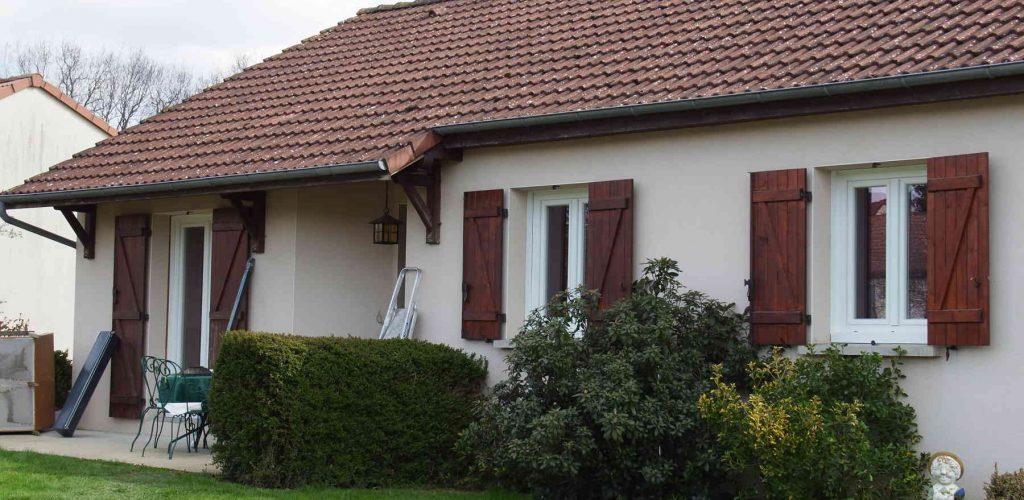 réalisation client 4 fenêtre + porte + porte de garage conform énergie 1