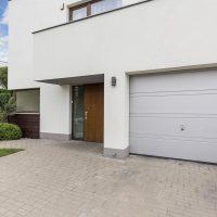 Porte de garage sectionnelle conform énergie allier Auvergne blanc