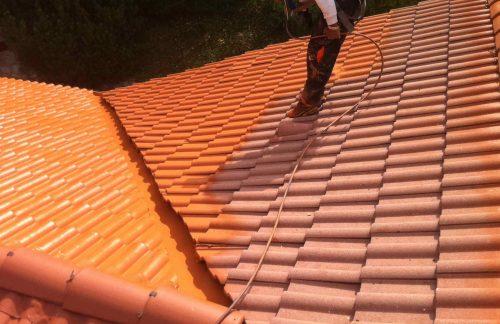 Traitement hydrofuge coloré toiture conform energie Allier Auvergne 1