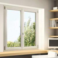 Fenêtre PVC blanche design
